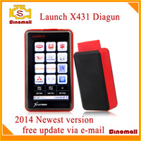 Wholesale Newest Launch X431 Diagun Scanner X diagun III years version Free Update by e mail launch diagnostics