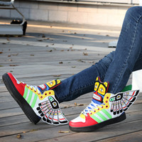 Cheap Popular men's maya wings shoes high-top shoes female skateboarding shoes hip-hop shoes