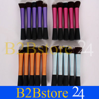 Wholesale 5Pcs Pro Different Style Real Techniques Makeup Powder Brushes Cosmetics Tool in set colors sets