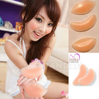 Cheap lingerie Invisible Gel Bra pad Thickening Gather Push Up Inserts silicone Breast Enhancer super Chicken Fillet stickines with retail box