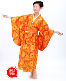 Wholesale Kimono formal short design female sleepwear bathrobe loose japanese style costume kimono