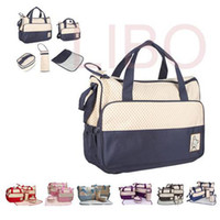 Wholesale Mother infanticipate mummy Babies bags fashion Diaper nappy bag multifunctional double shoulder cross body