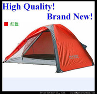 Wholesale High quality person Aluminum pole tent double layers light weight waterproof easy set up cmX90cm Brand New
