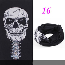 Wholesale Skull Patterns Seamless Tube Headwear Multifunctional Scarfs Magic Print Bandana for Promation Gifts RY0208