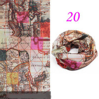 Wholesale Hot sale Seamless Multifunctional Headwear Functional Headband Multi Scarf RY0209
