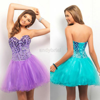 2014 TOP Glamorous Design Sweetheart Homecoming Dresses Shor...