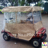 Wholesale transparent rain enclosure cover for seater golf cart buggy