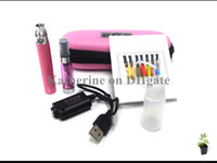 Wholesale eGo CE4 E Cigarette Starter Kits eGo T Battery mah mah mah CE4 Atomizer Electronic Cigarette Zipper Case Various Colors Instock