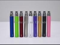 Wholesale Cheap Electronic Cigarettes Kits - Cheap Ego t Battery 650mah 900mah 1100mah for Electronic Cigarettes E Cigarettes E-cig Kit Various colors