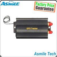 Wholesale Realtime GSM GPRS GPS Car Vehicle Tracker Quad Band Remote Control TK103B