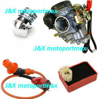 Cheap high performance 150cc GY6 Scooter Performance Carburetor Intake racing cdi racing coil performance gy6 150cc performance parts