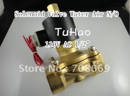 Wholesale Electric Solenoid Valve Water Air N O V AC quot Normally Open Type W160 K