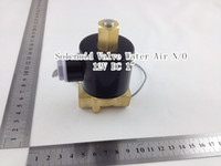 Wholesale Electric Solenoid Valve Water Air N O V DC quot Normally Open Type W250 K