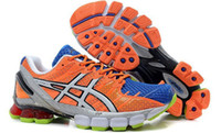 Wholesale asics shoes men s running brand asics gel kinsei sneakers colorful sports shoes size us7 us12 Biggest size