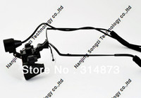 Cheap Free shipping Half Metal frame Ultra-Light 2.5X Binocular Dental Loupes Surgical Loupes with High Brightness Headlight