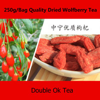 Wholesale New Organic Goji Berries g Chinese Pure g Goji Berry Brand Wolfberry Ningxia Goji Herbal Tea Personal Care Lycium Barbarum