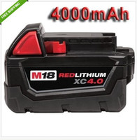 Wholesale Battery For MILWAUKEE V M18 RED LI ON XC MILWAUKEE V V