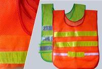 Wholesale Reflective pvc safety vest mesh cloth