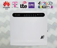 Wholesale Unlocked Huawei B593 CPE G LTE FDD wifi Router Mbps with LAN port