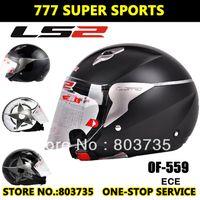 Wholesale LS2 OF559 Jet Motorcycle Helmet Half Face Helmet Man Female Motobike Casco