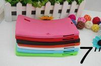 Comprimé q88 allwinner Prix-Q88 Tablet silicium cas protecteur couverture arrière pour 7 pouces Android Tablet PC Allwinner A23 double-came Multi-Color 1pcs 07PT-4