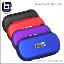 Wholesale Convenience Ego Zipper Case Bag Pouch ego Pockets for e cigarette ego carrying case e cig ego bag carry clearomizer tanks and all batteries