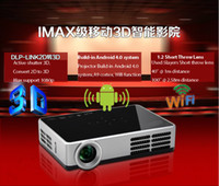 Wholesale New Full HD DLP MINI Led D to D Projector Video Digital home theater Projektor D Proyector Nightime Project quot screen