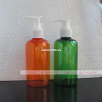 Wholesale 220ML plastic bottle lotion bottle shampoo bottle pressed bottle pressure nozzle fitted with an empty bottle of water