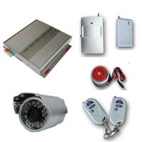 Cheap Home Security GSM Wireless Burglar Alarm System SMS MMS DVR IR Camera GPRS alarm