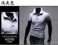 Men Cotton Round Big Sale New Summer Men's Fashion Polo T-Shirts, Cotton T shirts,Casual Slim Fit Stylish Short-Sleeve Polo Shirt Asia M-XXL C895