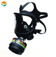 SA01   Free shipping full face gas mask with one filter cartridge