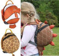 Wholesale doomagic Children s Backpack Safety Harness BackPacks Boy s School Bags Toddler Daysack Reins Satchel D201
