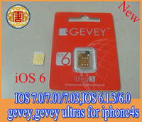 Originsl sim gpp card GEVEY ultra S Unlock card IOS7. 0. 4 ios...