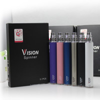 Wholesale Vision Spinner Ego c twist electronic cigarette ego c twist battery mah Variable Voltage V for Best Chrismas gift