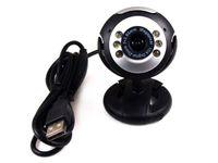 Wholesale 30 Mega USB LED Webcam Web Cam Camera with Micphone for PC Laptop Computer