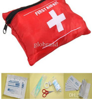 Wholesale E26 EMERGENCY FIRST AID KIT BAG BEST RED