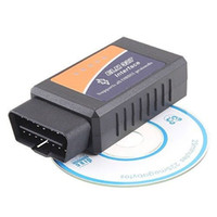 android car connector - Vehicle Diagnostic Tool OBD2 OBD II ELM327 ELM V1 Bluetooth Car Interface Code Scanner Works On Android