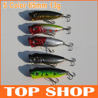 Hard Baits Swimbaits Saltwater Fishing lure 5 Color Wave Grilled Minnow Lures Fishing Lures Hard Plastic Bait Length 65mm Weight 13g