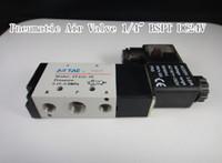 Wholesale 4V210 Ports2Position Single Solenoid Pneumatic Air Valve quot BSPT DC24V