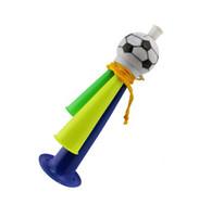 vuvuzela horn - Fashion Toys Brasil World Cup Children Speaker Football Vuvuzela Tube Speakers cm long Kids Toys Freeshipping