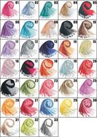 Wholesale Double color gradient Cashmere scarf pashmina scarves shawls Ponchos wraps silk scarf cm