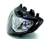 Wholesale Motorcycle GSXR Headlight Headlamp Lights for Suzuki GSX R K1 K2 Black China Spare Parts and Accessories