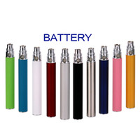 Wholesale Colorful EGO T Battery For Electronic Cigarette E cig Ego T Ego W Ego C MT3 Thread CE4 CE5 CE6 mah mah mah e cigarette DHL