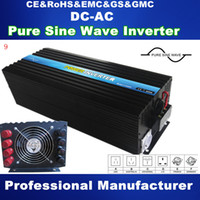 best power inverter - 5000W Pure Sine Wave Solar Inverter Power Supply DC TO AC power inverter high quality full power best design