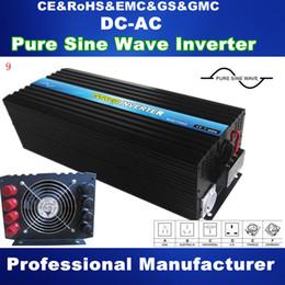 Wholesale 5000W Pure Sine Wave Solar Inverter Power Supply DC TO AC power inverter high quality full power best design