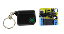 Wholesale RF Wireless Remote Control V Channels Relays Receiver Controller Coding Type DK1A MHz New F3015A4