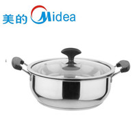 Wholesale beautiful thick stainless steel fondue pot double bottom cookware oven pan cm cooker special edge