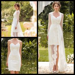 Designer Beach Wedding Dress - Ocodea.com