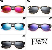 Wholesale 100 New Colorful AAA Quality Fashion Sunglasses Outdoor Spy Vintage Style Glasses Cycling Driving Sunglasses DHL Freeshipping