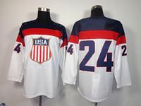 Cheap 2014 Sochi Olympic Team USA #24 Ryan Callahan White American Premier Hockey Jerseys Ice Winter Man Jersey Stitched Authentic Drop Shipping